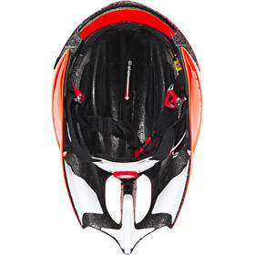 Rudy Project Wing57 Helmet red fluo / white (shiny)